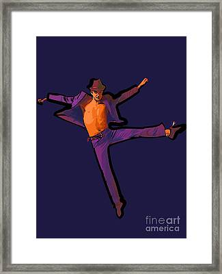 The Dancer 83 Framed Print by College Town
