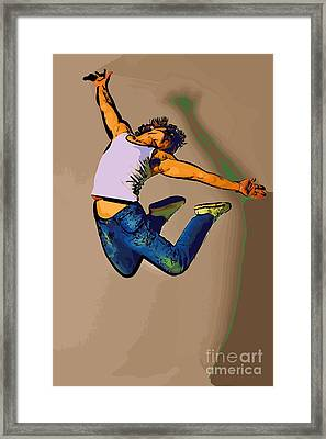 The Dancer 84 Framed Print by College Town