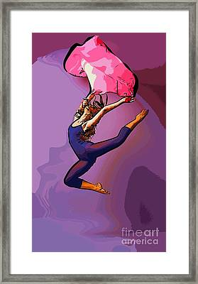 The Dancer 86 Framed Print by College Town