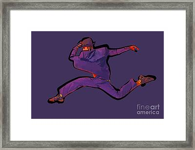The Dancer 89 Framed Print by College Town