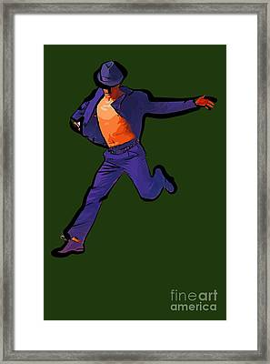 The Dancer 91 Framed Print by College Town