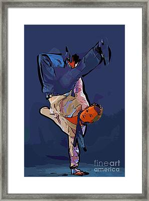 The Dancer 92 Framed Print by College Town