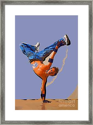 The Dancer 93 Framed Print by College Town