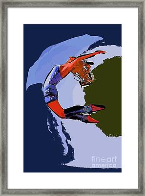 The Dancer 96 Framed Print by College Town