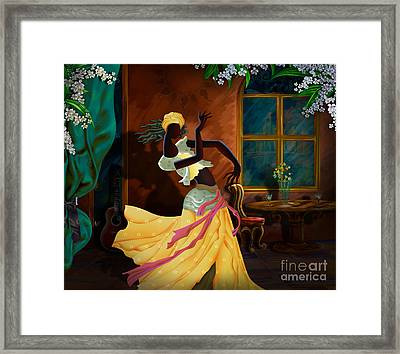 The Dancer Act 1 Framed Print by Bedros Awak
