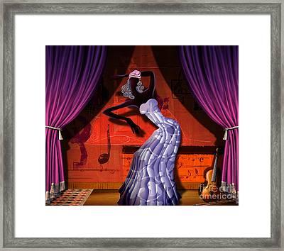 The Dancer V2 Framed Print by Bedros Awak