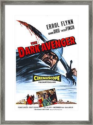The Dark Avenger, Aka The Warriors, Us Framed Print by Everett