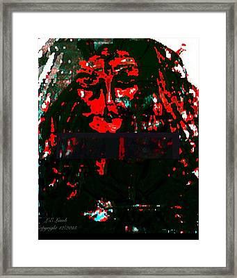 The Dark Side  Framed Print by Larry E Lamb