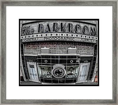 The Darkroom Framed Print by Edward Fielding