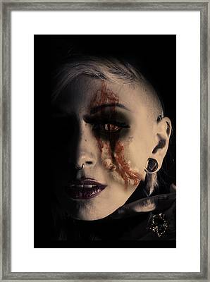 The Darkside Framed Print by Nathan Wright