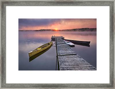 The Day Begins Framed Print by Darylann Leonard Photography