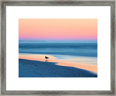 The Day Begins Framed Print by JC Findley