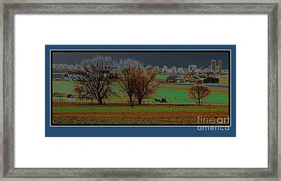 The Day Is Done Framed Print by Vilas Malankar