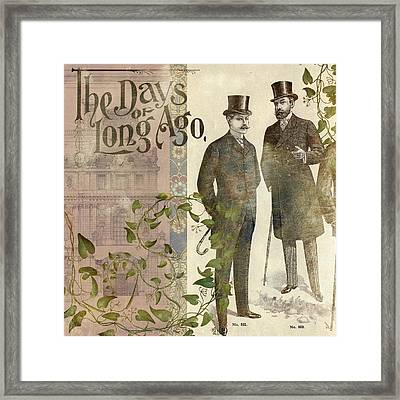 The Days Of Long Ago Framed Print by Aimee Stewart