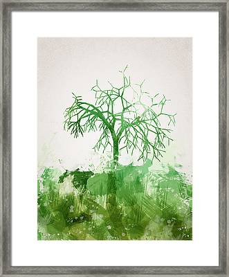 The Dead Tree Framed Print by Aged Pixel