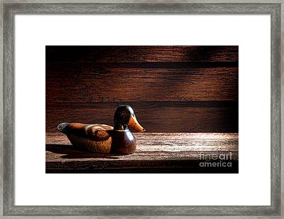 The Decoy Framed Print by Olivier Le Queinec