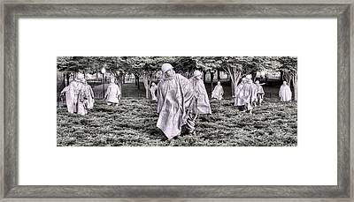 The Defensive Line Framed Print by JC Findley