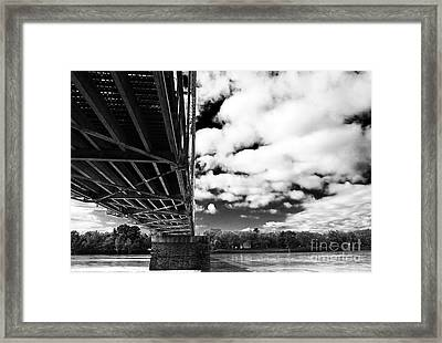 The Delaware River Framed Print by John Rizzuto