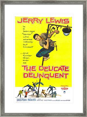 The Delicate Delinquent, Us Poster Framed Print by Everett