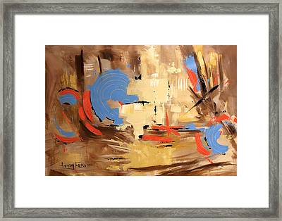 The Deliverer Will Come From Zion Framed Print by Anthony Falbo