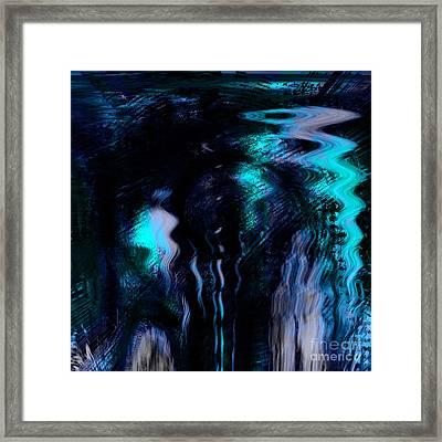The Depth Framed Print by Ashantaey Sunny-Fay