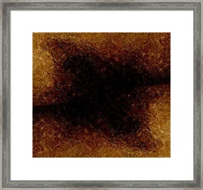 The Descent Framed Print by James Barnes