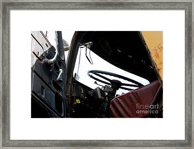 The Diamond T - 1952 Framed Print by Steven  Digman