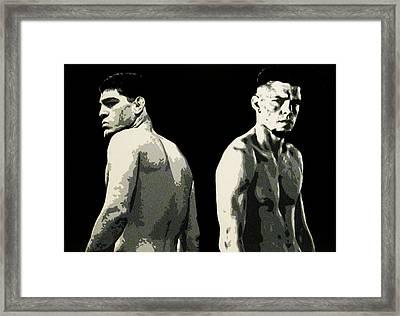 The Diaz Bros Framed Print by Geo Thomson
