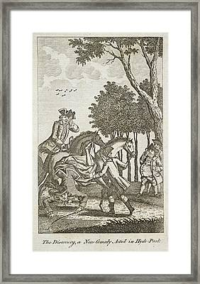 The Discovery Framed Print by British Library
