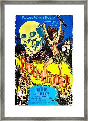 The Disembodied, Us Poster, Bottom Left Framed Print by Everett