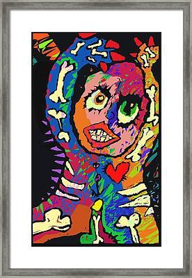 The Djinn. Framed Print by Brett Sixtysix