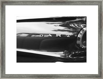 The Dodge Dart Framed Print by Dan Sproul