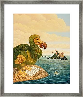 The Dodo, 1993 Framed Print by Frances Broomfield