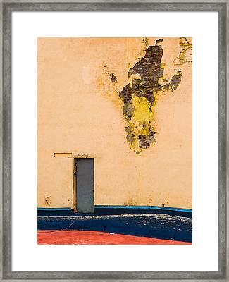 The Door - Featured 2 Framed Print by Alexander Senin