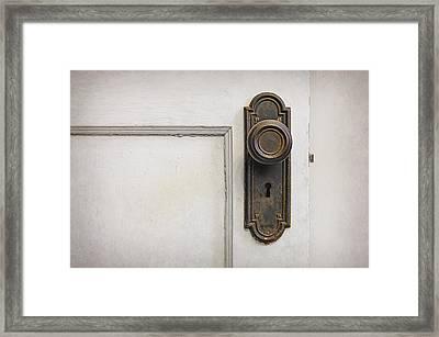 The Door Framed Print by Scott Norris