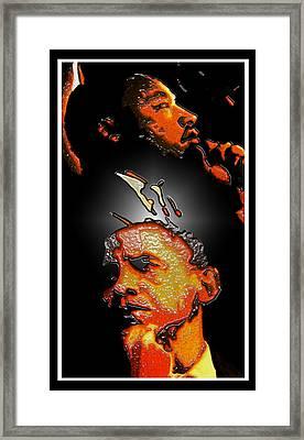 The Dream Realized Framed Print by Myrna Hawkins