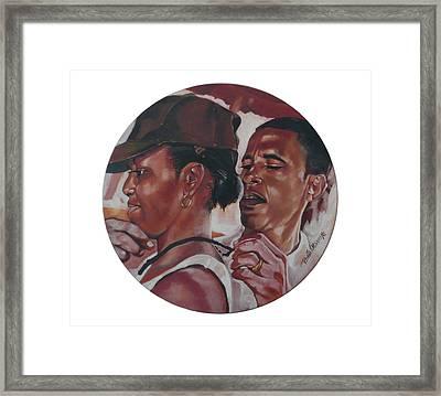 The Dream Team Framed Print by Belle Massey