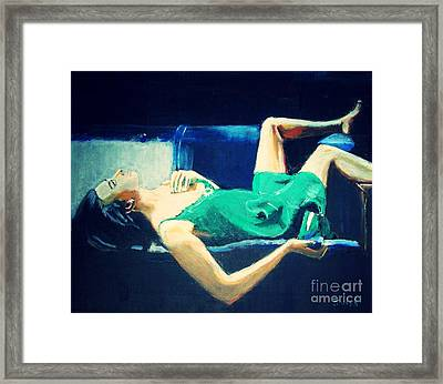 The Dreamer   Framed Print by Judy Kay