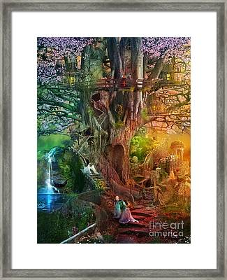 The Dreaming Tree Framed Print by Aimee Stewart