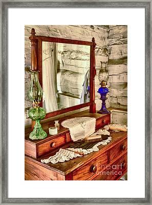 The Dresser Framed Print by Inge Johnsson