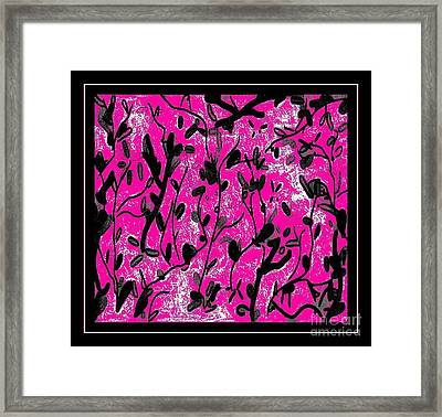 The Dressing Room Framed Print by Cindy McClung