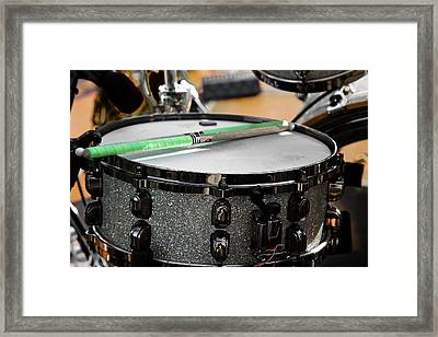 The Drum Framed Print by David Patterson