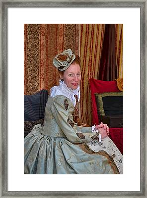 The Duchess Framed Print by Julie Dant
