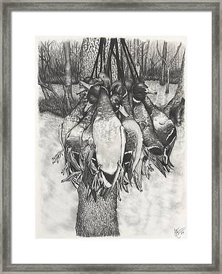 The Duck Hunt Framed Print by Jon Cotroneo