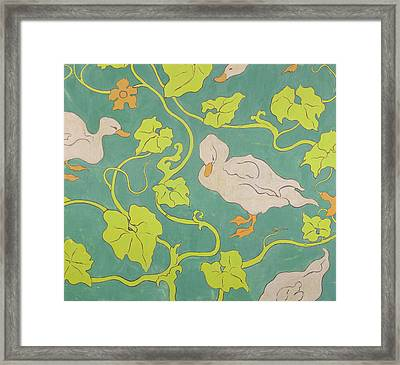 The Ducks Framed Print by Paul Ranson