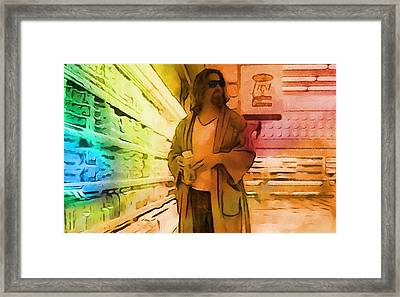 The Dude Framed Print by Dan Sproul