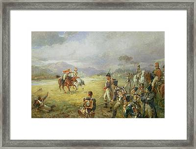 The Duel  Fair Play Framed Print by Robert Alexander Hillingford