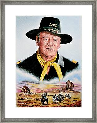 The Duke U.s.cavalry Framed Print by Andrew Read