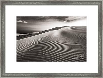 The Dune Framed Print by Sherry Davis
