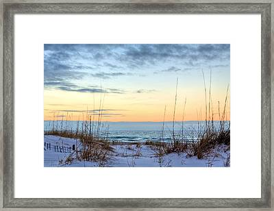 The Dunes Of Pc Beach Framed Print by JC Findley